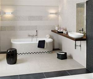 Badezimmer Fliesen Grau Weiß : ideen f r die perfekte badeinrichtung ~ Watch28wear.com Haus und Dekorationen