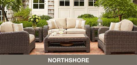 brown patio furniture
