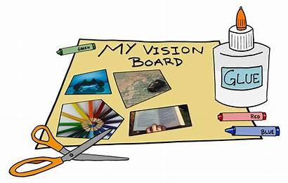 Vision Board Goals Create Paper Mathnasium Say