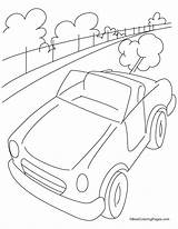 Highway Coloring Mini Cars Sheets Template Sketch Drawings Templates 954px 96kb sketch template