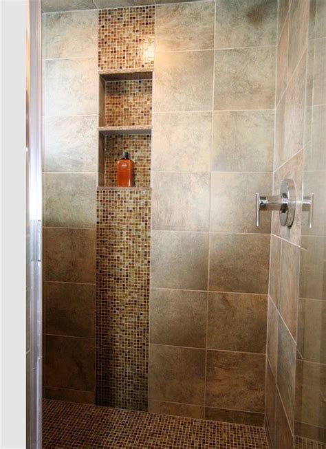 the cascade look vertical accent of mosaic tile