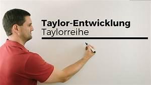 Taylorreihe Berechnen : taylor entwicklung taylorreihe potenzreihe entwicklungsstelle xo 1 mathe by daniel jung ~ Themetempest.com Abrechnung
