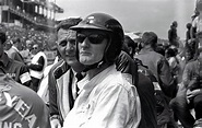 Ken Miles at Le Mans 1966 - A warrior about to mount his s ...