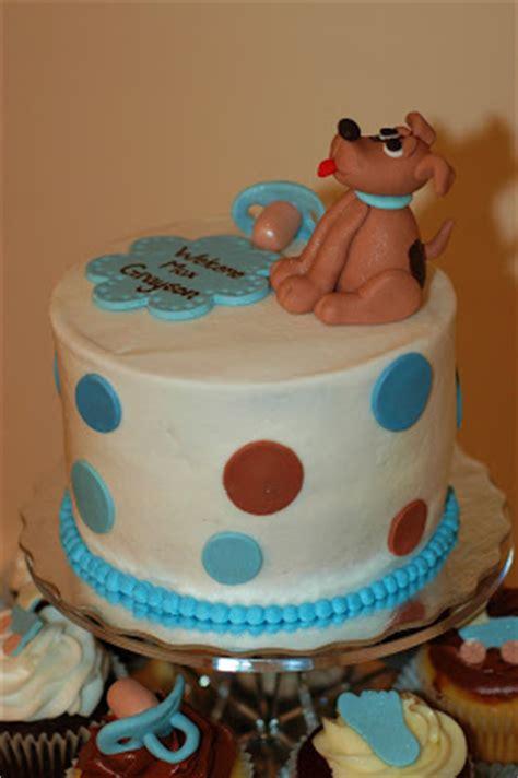 puppy themed baby shower tara s cupcakes puppy theme baby shower cupcake tower