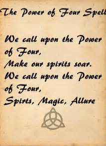 Charmed Book of Shadows Power Spell