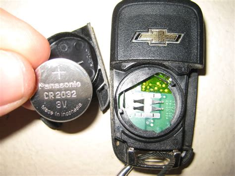 gm chevrolet equinox key fob battery replacement guide