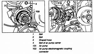 Procedure For Replacing Smog Pump On 92 400se 119 Engine