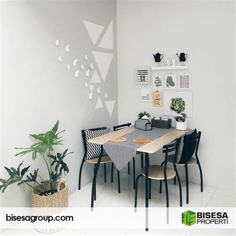 tips dekorasi ruang makan minimalis  menarik bisesa