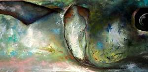 King Mackerel Painting by Lynn Golitz