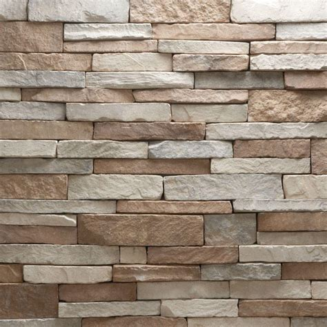 stacked brick veneerstone stacked stone villa flats 150 sq ft bulk pallet manufactured stone 97357 the