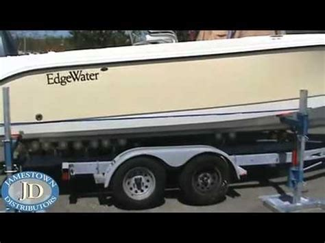 Removing A Boat From A Trailer On Land by Removing A Boat From A Trailer On Land Doovi