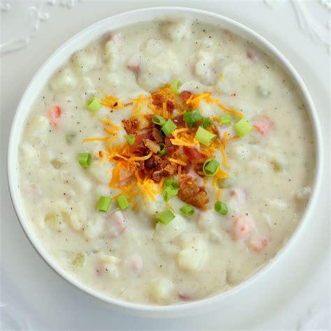 potatoe soup ham and potato soup recipe