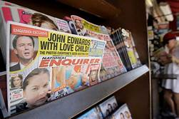 The National Enquirer is being sold for $100 million to James Cohen, CEO of Hudson News…