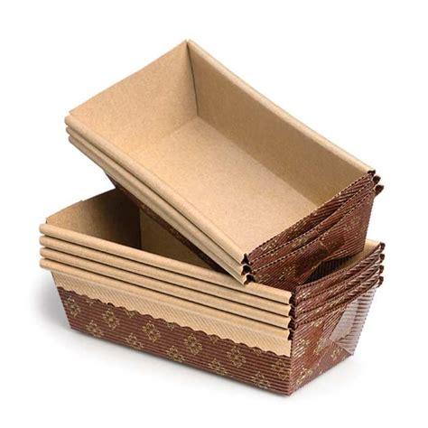 regular bakeable paper loaf pans set