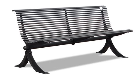 Wrought Iron Garden Benches by Design Outdoor Bench Street Furniture Made Of Galvanized