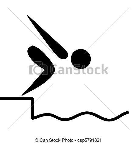 clipart nuoto clipart di nuoto segno nero proiettato swiming o