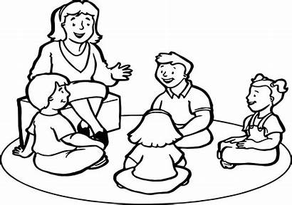 Teacher Coloring Pages Teachers Printable Drawing English