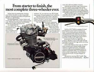 The Honda Atc Brochure Page