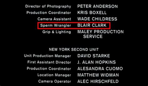 film credits 11 amazing things in end credits