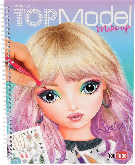 Best Models Topmodel Painting Book Create Your Topmodel Make Up Louise