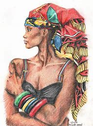 African American Women Art Drawings