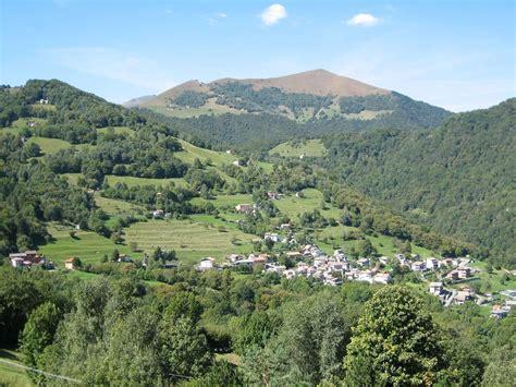 Vista Almarnich  Panorama Valle Intelvi « Agriturismo