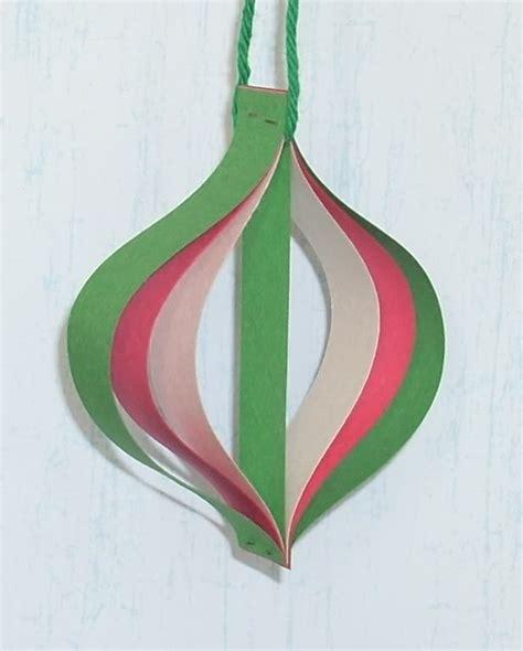 christmas decorations for toddlers with construction paper como hacer adornos de navidad con papel portal de manualidades