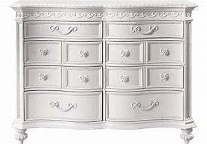 Disney Princess White 8 Drawer Dresser - Dressers Colors