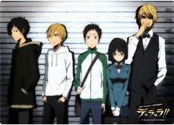 in durarara new series...Durarara Izaya And Mikado