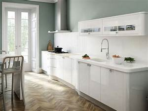 couleur peinture cuisine 66 idees fantastiques With modele deco cuisine peinture