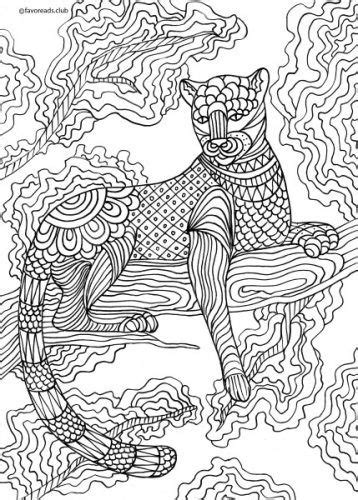 animals  birds panther favoreads coloring club