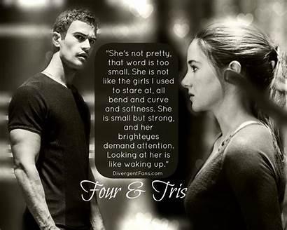 Divergent Tris Four Quotes Insurgent Allegiant Tobias