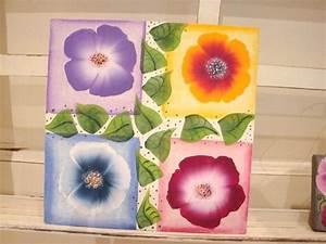 Peindre Au Passé Simple : tutoriel peinture facile femme2decotv ~ Melissatoandfro.com Idées de Décoration