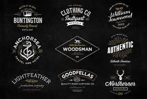 The Handmade Vintage Logo Bundle Logo Templates On