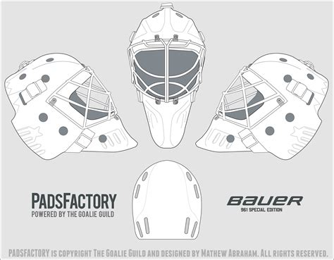 Bauer goalie mask template costumepartyrun hockey goalie mask template 28 images goalie mask maxwellsz
