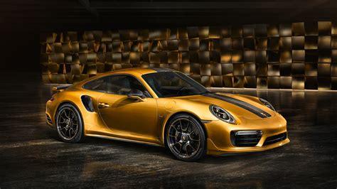 Wallpaper Porsche 911 Turbo S Exclusive Series, 4k