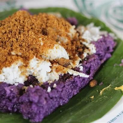 Puto Bumbong Filipino Desserts Manila Breakfast Bird