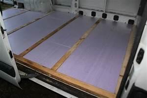 Isoler Un Sol Froid : isoler son fourgon avec du polystyr ne poimobile ~ Premium-room.com Idées de Décoration