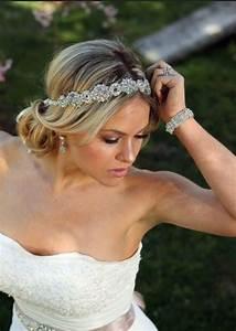 wedding headband Wedding Hairdo Pinterest Wedding headband, Weddings and Wedding