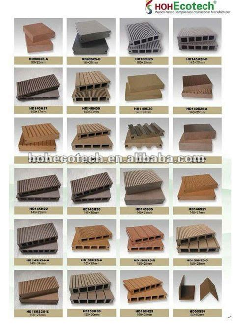 Bamboo Plastic Composite Decking