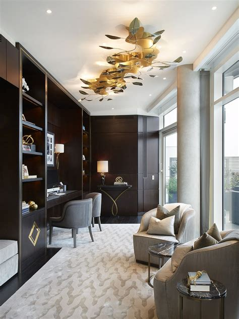 Interior Design Styles  Luxury Penthouse Designed By
