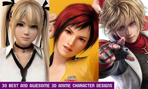30 Best 3d Anime Characters Designs For Your Inspiration