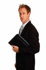 Computer Business   Free Stock Photo   A young businessman ...