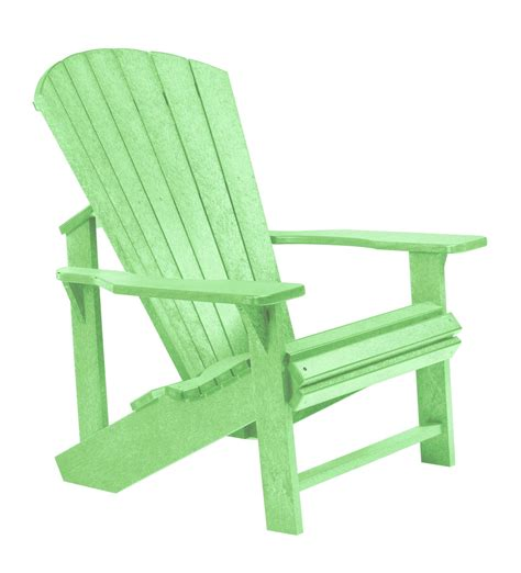 generations lime green adirondack chair from cr plastic