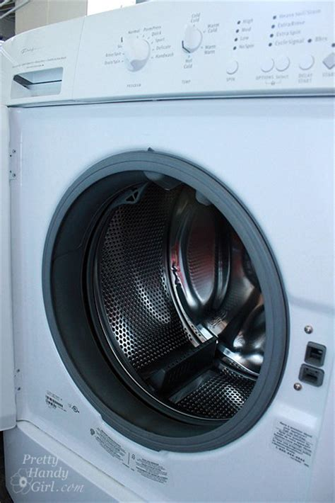 clean front load washer how to keep your he front load washer clean and smelling fresh pretty handy girl