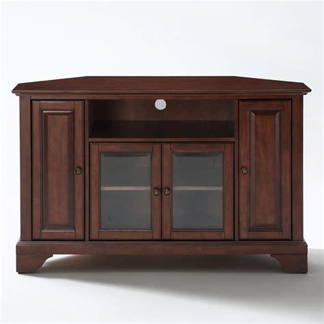 Crosley Furniture KF10006B Lafayette Corner TV Stand   ATG