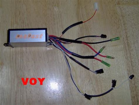 voy  electric scooter  volt controller target