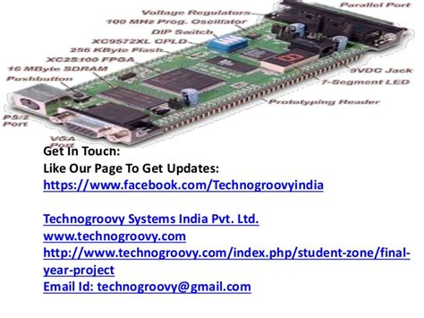 b tech final year projects embedded systems ece projects