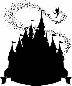 A bazillion Disney silhouettes - to print and frame in