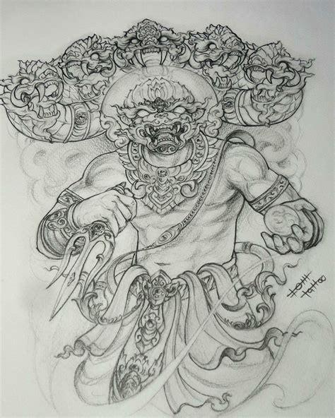 pin  otzi  neo japanese tattoo thai tatuaje